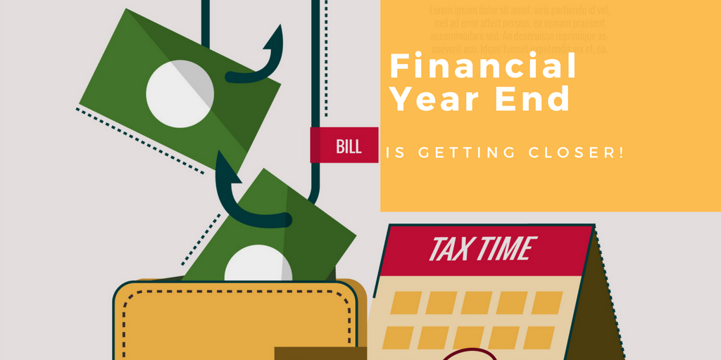 Financial Year End, accounting software, invoicing, bills, tax, GST, business accounting