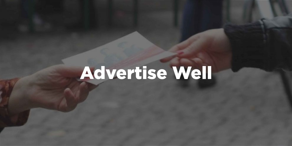 Advertise Well