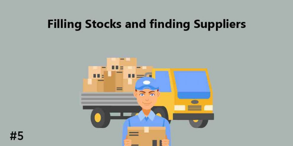 filling stocks and finding solutions, gift business ideas