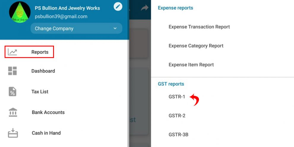 a gst billing software