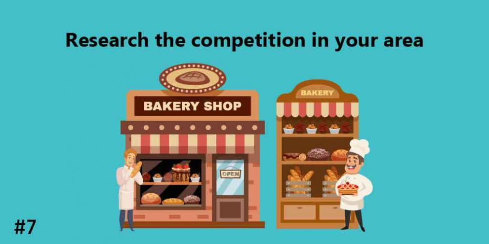 Research the competition in your area