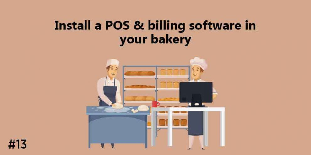 Install A POS & Billing Software In Your Bakery