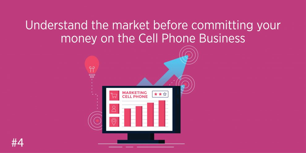 Understand the market before committing your money on the Cell Phone Business