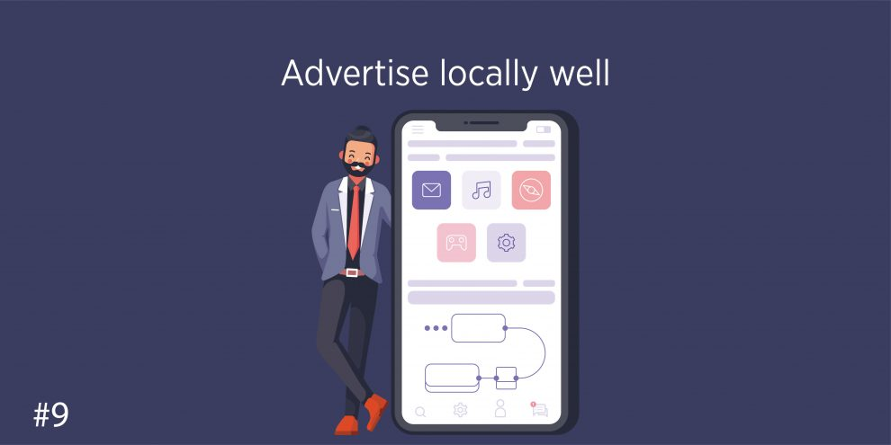 Advertise locally well