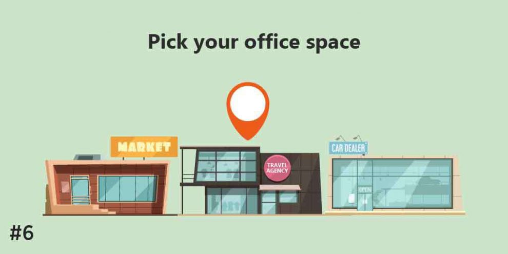 Pick your office space