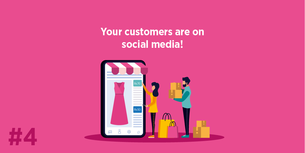 Your customers are on social media!