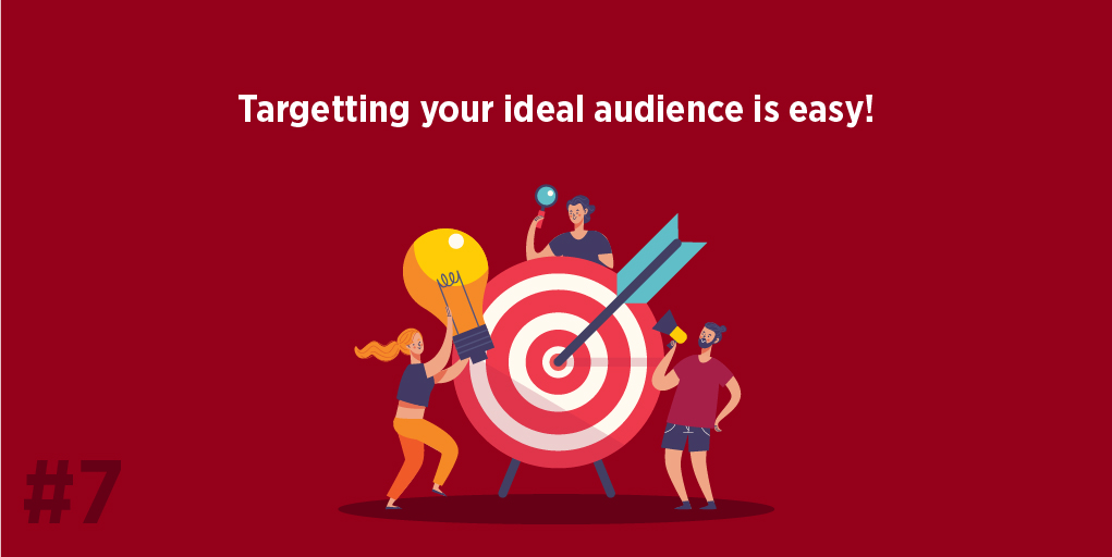 Targeting your ideal audience is easy!