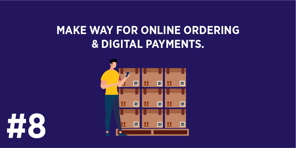 Make way for Online Ordering & Digital Payments.
