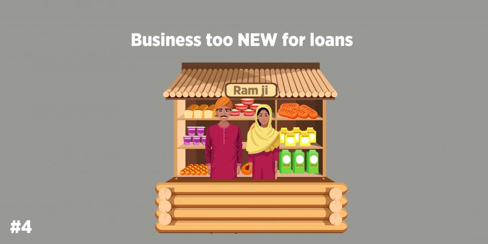 Business too NEW for loans