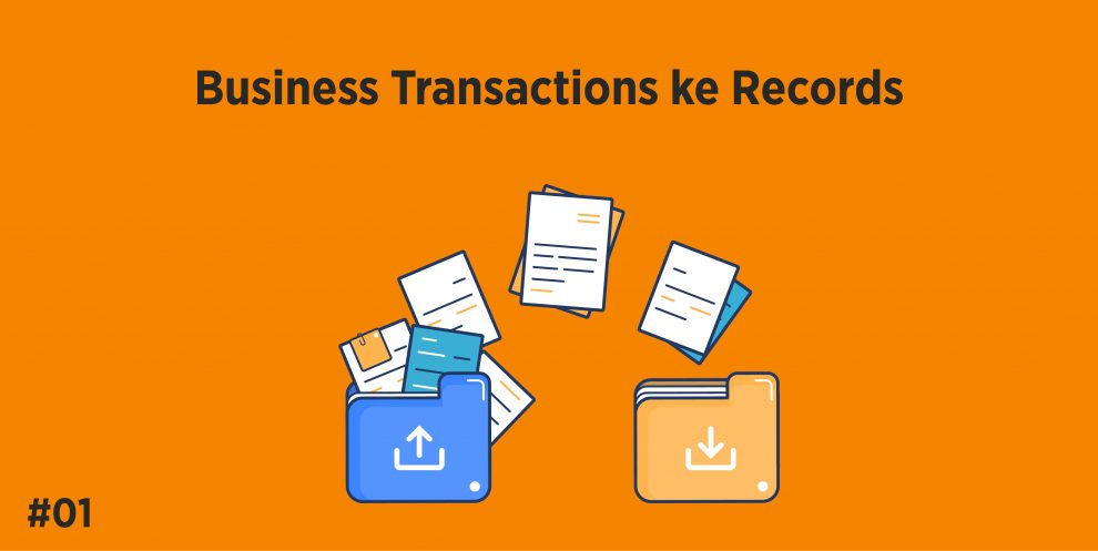 Business Transactions ke Records
