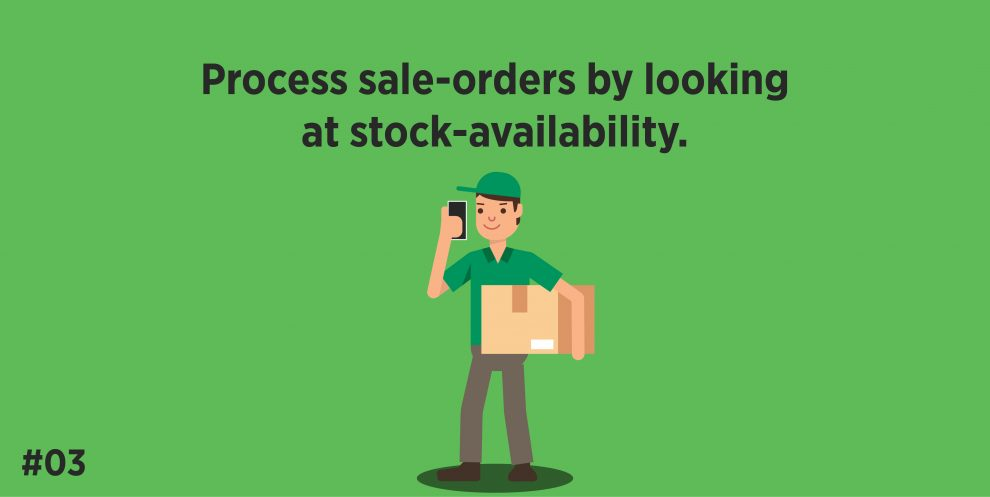Process sale-orders by looking at stock-availability