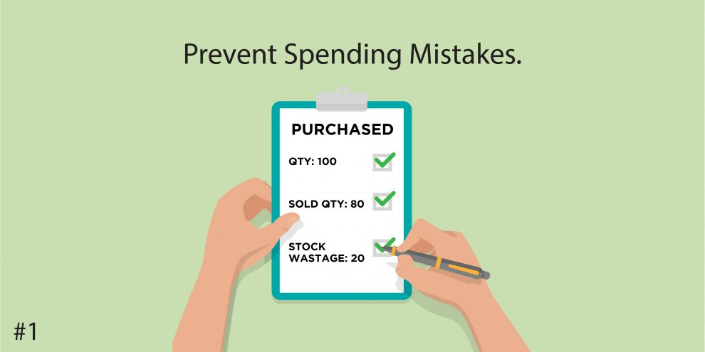 1. Prevent Spending Mistakes.