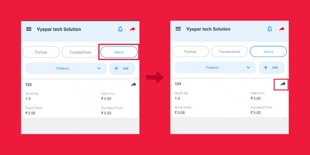 Latest Update - Now Share Products Online In One Click With Updated Feature