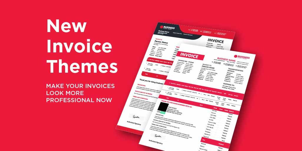 Make Your Invoices More Professional With New Invoice Themes in Vyapar